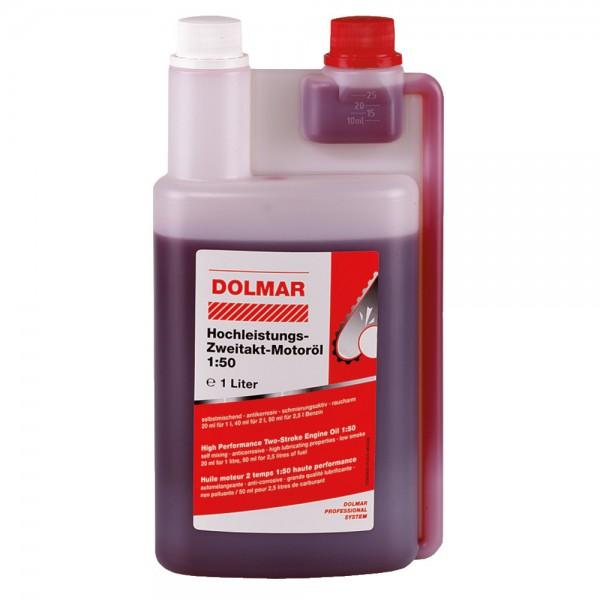 2-Takt-Motoröl mit Dosierer 1 Liter