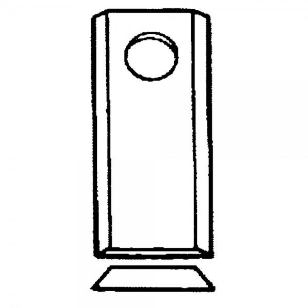 Scheibenmäherklinge passend zu Claas, Deutz-Fahr, Fella, Vicon, Krone, Niemeyer, Pöttinger, PZ-Zeege