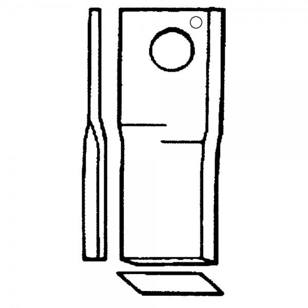 Scheibenmäherklinge passend zu Claas, Niemeyer, Pöttinger
