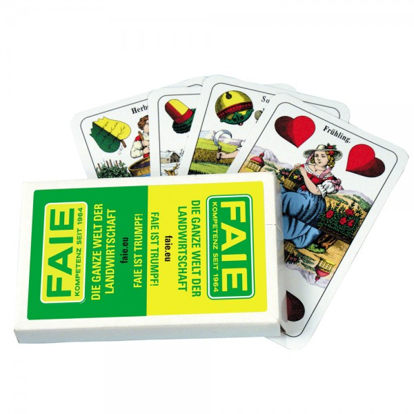 Spielkarten FAIE Doppeldeutsch 36 Blatt