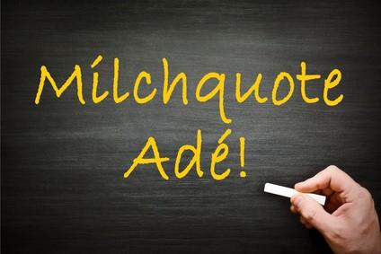 Milchquote-Ade