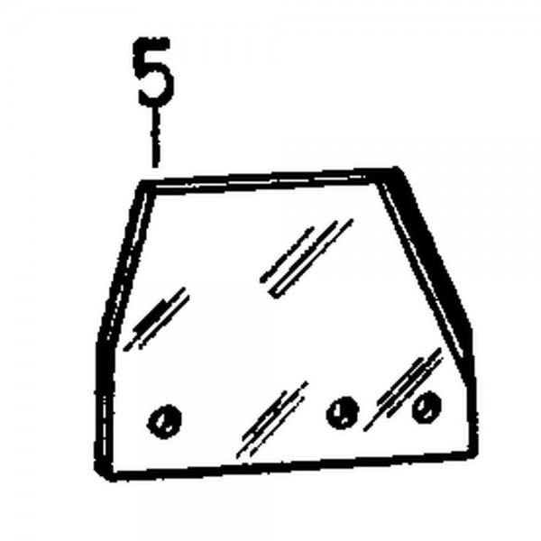 Messerkopfplatte, 6 mm