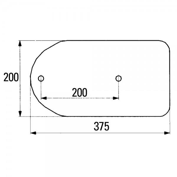 Anlageplatte T6, T61