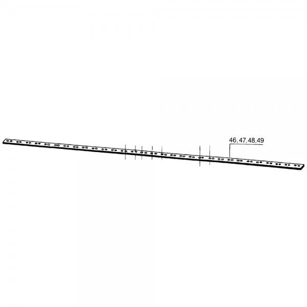 Mähmesserrücken 137 cm